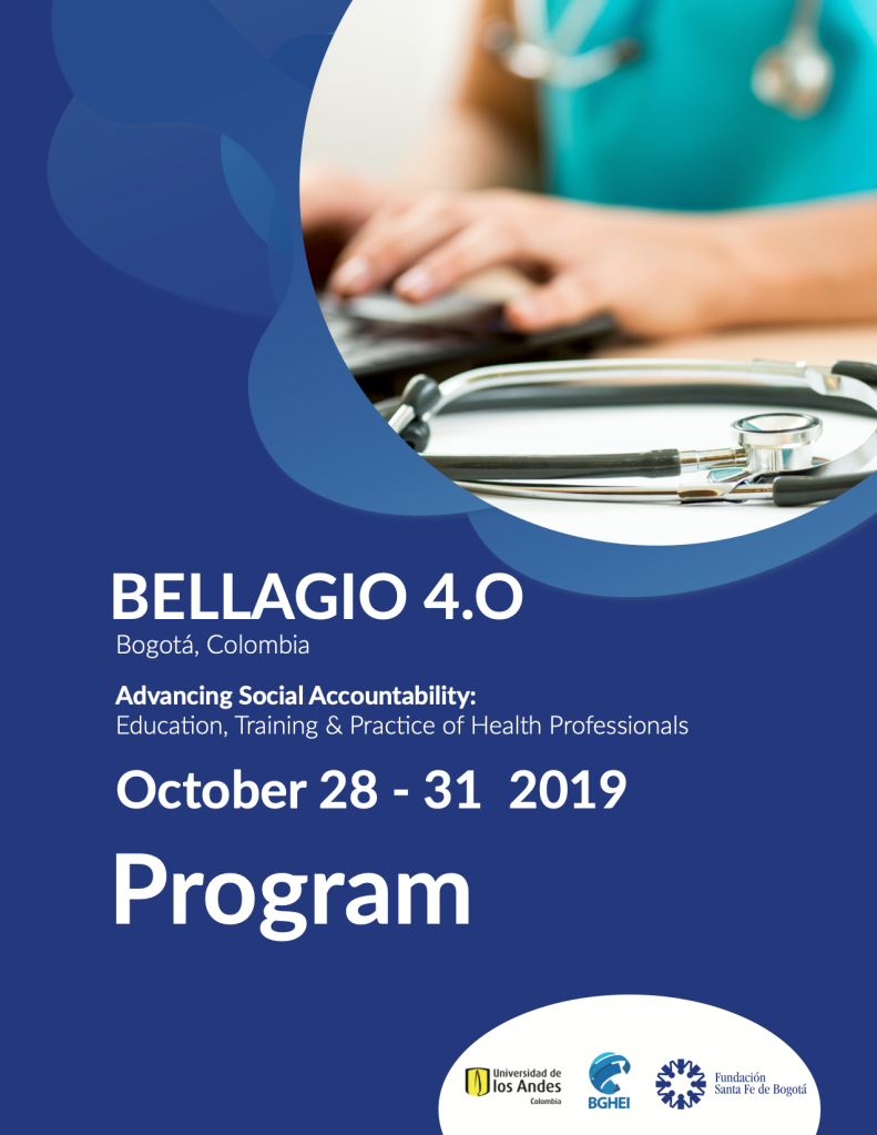 Bellagio 4.0 conference flyer